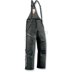 Arctiva Black Mechanized 4 Bibs - 31300644