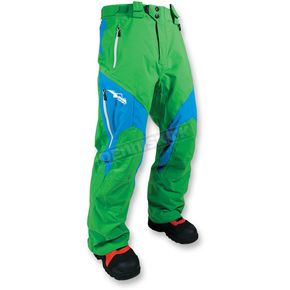 HMK Green/Blue Peak 2 Pant - HM7PPEA2GB3X