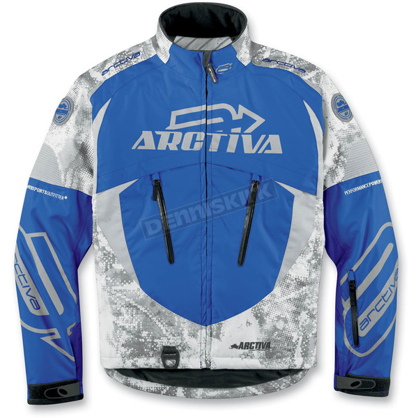 Arctiva Blue Camo Comp 6 Insulated Jacket - 31200871