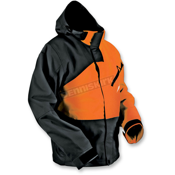 HMK Black/Orange Hustler 2 Jacket  - HM7JHUS2BOXS