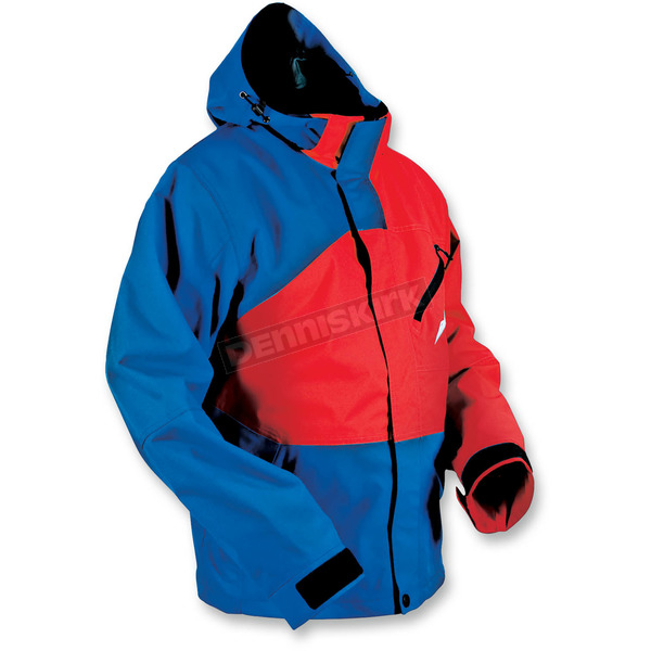 HMK Blue/Red Hustler 2 Jacket  - HM7JHUS2BLRM