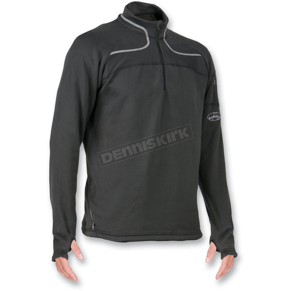 R.U. Outside Mens Thermo-Motion Mid-Layer Fleece Top - THERMOZIP-M-XL
