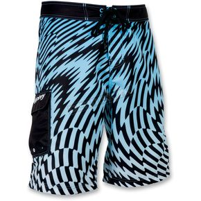 Slippery Blue Solar Boardshorts - 32300127
