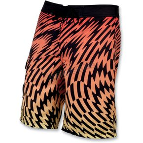 Slippery Orange Solar Boardshorts - 32300136