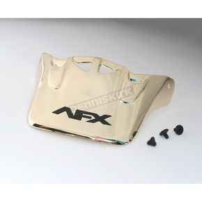 AFX Gold Visor w/Screws - FX-0021