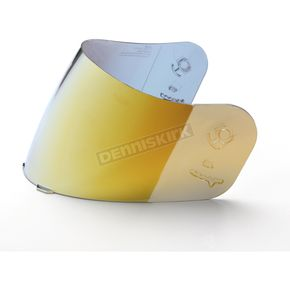 HJC RST Gold Mirrored Shield for HJC Helmets - 836-760