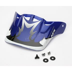 AFX Blue Visor w/Screws for AFX Helmets - FX-0094
