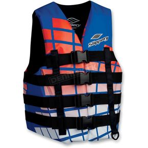 Slippery Blue/Orange Hydro Vest - 32400422