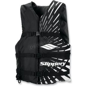 Slippery Black Impulse Vest - 32400485