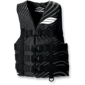 Slippery Black/Gray Hydro Vest - 32400493