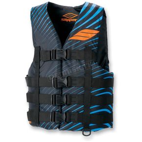 Slippery Black/Blue Hydro Vest - 32400498