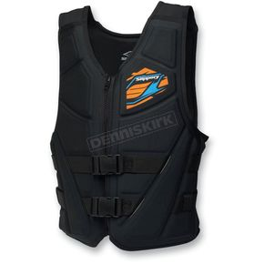 Slippery Black/Blue Switch Vest - 32400546