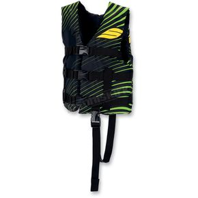 Slippery Childs Black/Green Hydro Type 2 Vest - 32420041