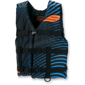 Slippery Youth Black/Blue Hydro Type 2 Vest - 32420042