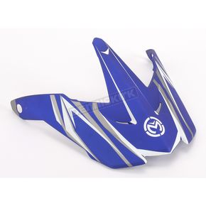 Moose Blue Visor for Moose Helmets - 01320289