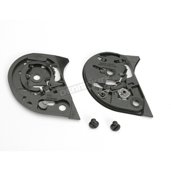 HJC Black Base Plate Kit for HJC Helmets - 10-932