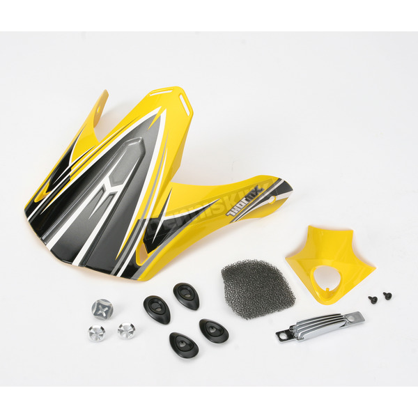 Thor Yellow Accessory Kit for Thor Helmets - 1320070