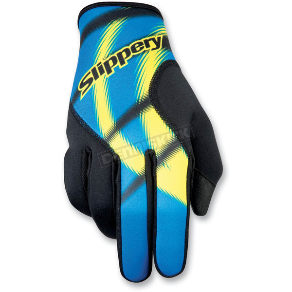Slippery Blue Magneto Gloves - 32600222