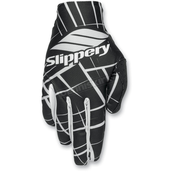 Slippery Black/Gray Flex Lite Gloves - 32600266