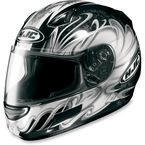 CL-SP Silver Typhoon Helmet - 380-956