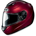 CS-R2 Wine Metallic Helmet - 208-264