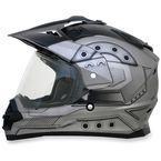 Frost Gray FX-39DS Hero Helmet - 0110-4166