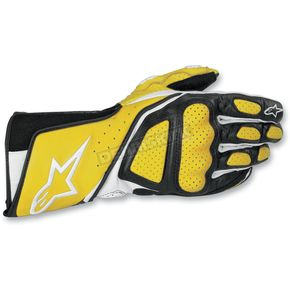 Alpinestars Yellow SP-8 Gloves - 355830-50-L