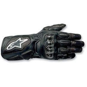 Alpinestars Black 2012 SP-2 Gloves - 3558212-10-L