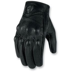 Icon 1000 Black Pursuit Touch Gloves - 3301-1803