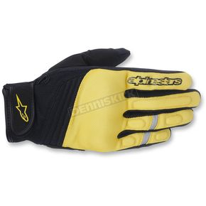 Alpinestars Yellow/Black Asama Air Gloves - 3579414-558-L