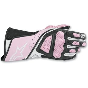 Alpinestars Womens Pink Stella SP-8 Gloves - 351830-39-L