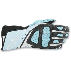 Alpinestars Womens Light Blue Stella SP-8 Gloves - 351830-79-L