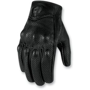 Icon 1000 Womens Black Pursuit Touch Gloves - 3302-0300