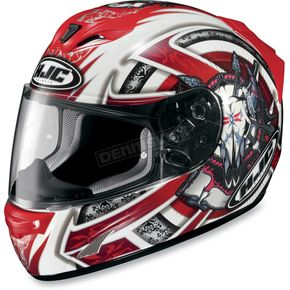 HJC FS-15 Red Trophy Helmet  - 552-916