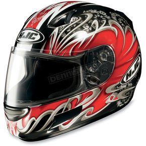 HJC CL-SP Red Typhoon Helmet - 380-916