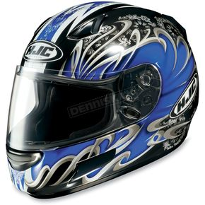 HJC CL-SP Blue Typhoon Helmet - 380-925