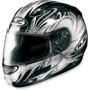 HJC CL-SP Silver Typhoon Helmet - 380-956