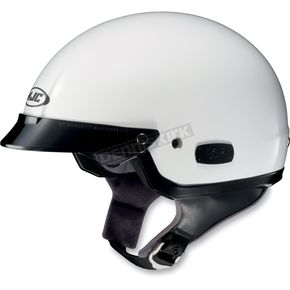 HJC IS-2 White Half Helmet - 58-129