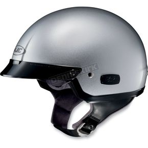 HJC IS-2 Silver Metallic Half Helmet - 58-132