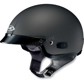 HJC IS-2 Flat Black Half Helmet - 58-182