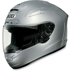 Shoei Helmets X-Twelve Light Silver Metallic Helmet - 0112-0107-06