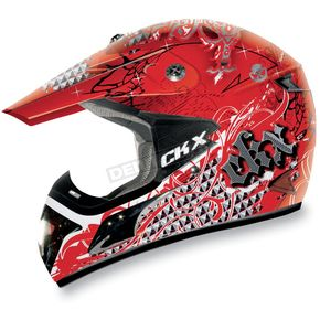 CKX Red VX-17 Bling Helmet - 110415