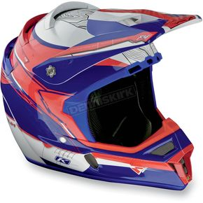 Klim Red/White/Blue F4 Helmet - 3206-140
