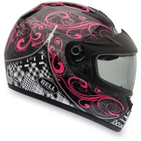 Bell Black/Pink Arrow Zipped Snow Helmet - 2035511