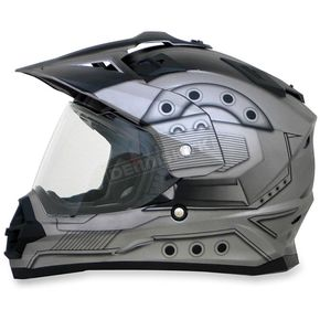 AFX Frost Gray FX-39DS Hero Helmet - 0110-4160