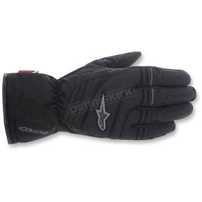 Alpinestars Black/Grey Transition Drystar Gloves - 3525515-105-S