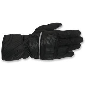 Alpinestars Black/Black SP-Z Drystar Gloves - 3527917-1100-M