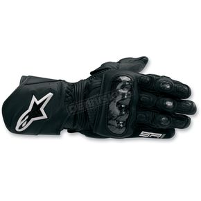 Alpinestars Black Sp-1 Gloves - 35581010S
