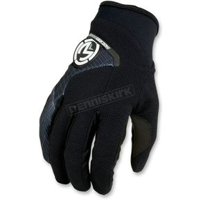 Moose Black Qualifier Gloves - 33302682
