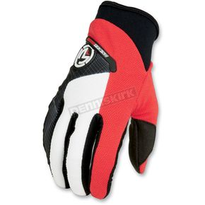 Moose Red Qualifier Gloves - 33302700